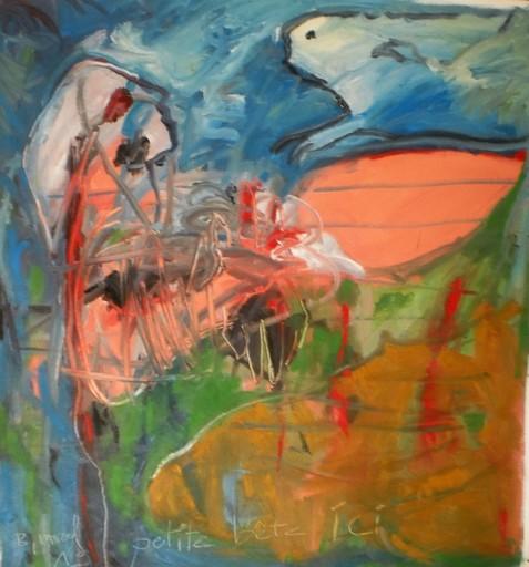 Bernard MOREL - Painting - PETITE BETE ICI.