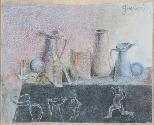 Carlo GUARIENTI - Peinture - Natura morta