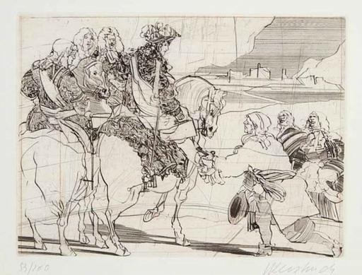 Claude WEISBUCH - Print-Multiple - De la série appelée Le grand Siècle