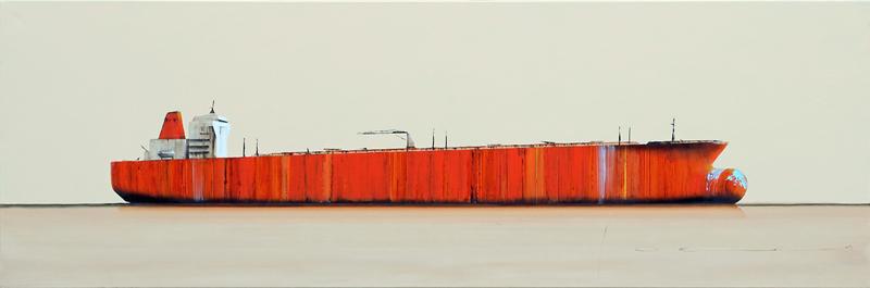Stéphane JOANNES - Peinture - Tanker