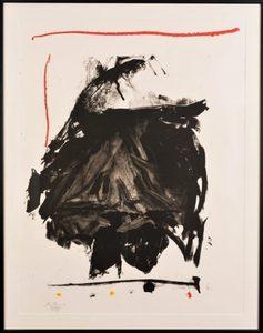 Robert MOTHERWELL - Print-Multiple - Black Rumble