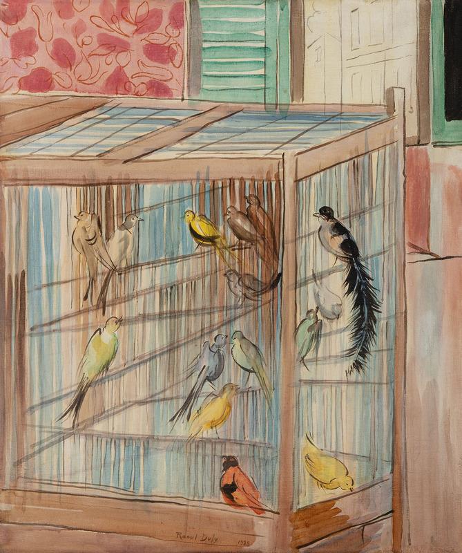 拉奥尔•杜飞 - 绘画 - La cage