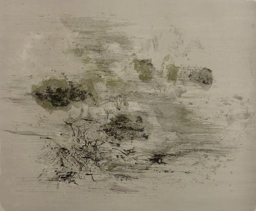 赵无极 - 版画 - Lithograph 125