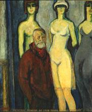 Auguste DUREL - Painting - Portrait du peintre Van Dongen (N°81)