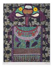 Enrico BAJ - Print-Multiple - Lady Virginia Woolf