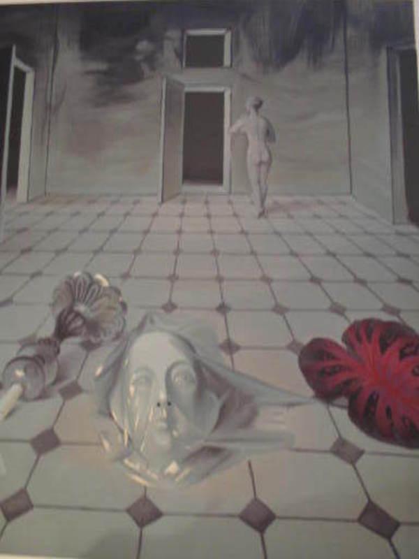 "Roger CHAPELAIN-MIDY - Grabado - ""La fin des amours,1982""."