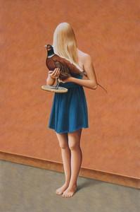 Erlend STEINER LOVISA - Painting - Marilena 1 (Momotaro)    (Cat N° 5649)