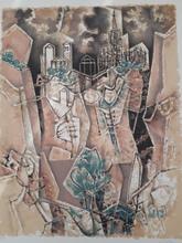 Georges DAYEZ - Print-Multiple - Cubist City