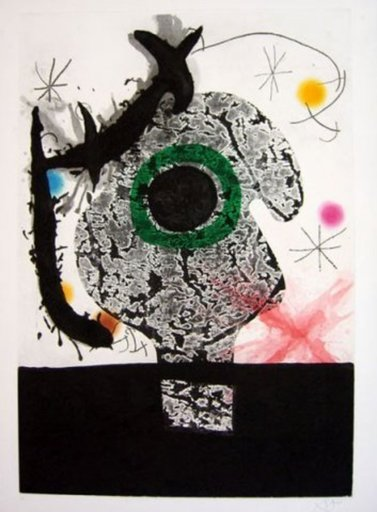 Joan MIRO - Estampe-Multiple - Polifemo