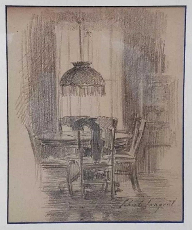 John Singer SARGENT - Drawing-Watercolor - No Title