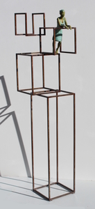 Joan ARTIGAS PLANAS - Skulptur Volumen - Balcony Cube Haute