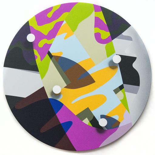 Sylvain LOUIS SEIZE - Painting - Confluence