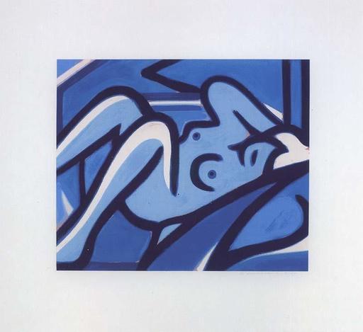 Tom WESSELMANN - Stampa Multiplo - Blue Nude