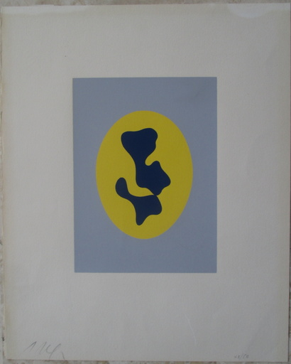 Hans ARP - Estampe-Multiple - Gaston Puel: ARP