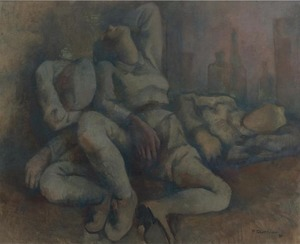 Pavel TCHELITCHEW, Sleeping Harlequins