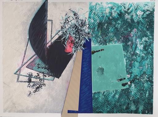 Zigi BEN-HAIM - 版画 - Composition