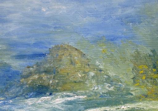 Kyna DE SCHOUEL - Peinture - Eau Calme
