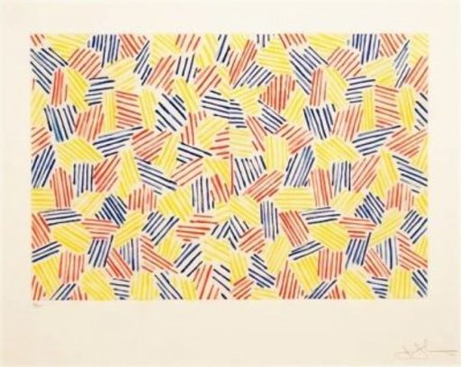 Jasper JOHNS - Print-Multiple - Untitled