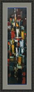 Levan URUSHADZE - Peinture - The city that never sleeps # 1