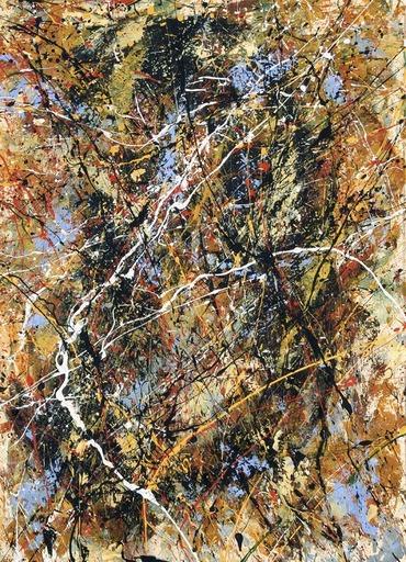Jean-Jacques MARIE - Gemälde - Composition A416