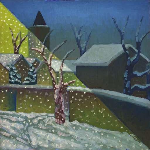 SALVO - Peinture - Nevicata