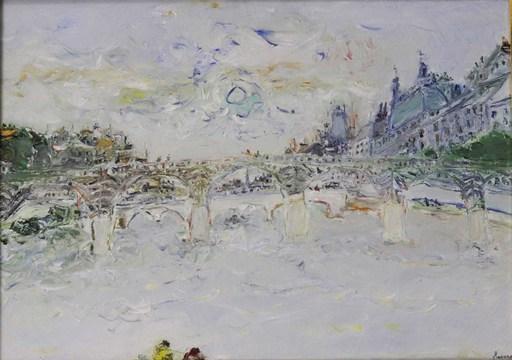 Jean FUSARO - Pintura - La Seine, Paris