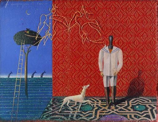 Claudio CARGIOLLI - Pintura - In compagnia di Carrà
