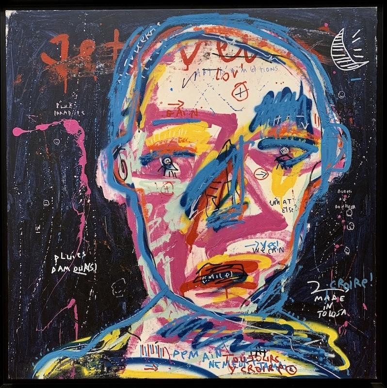 JAZZU - Painting - Pluie d'amour(s)