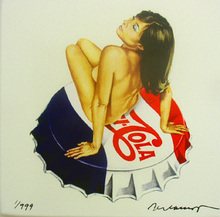 Mel RAMOS - Sculpture-Volume - Pepsi Cola
