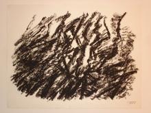Jacques GERMAIN - Drawing-Watercolor - COMPOSITION JG 18B 1992