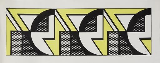 Roy LICHTENSTEIN - Stampa-Multiplo - Repeated Design