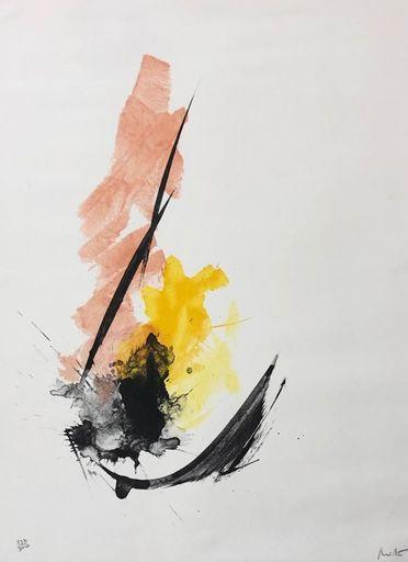 Jean MIOTTE - Estampe-Multiple - Composition