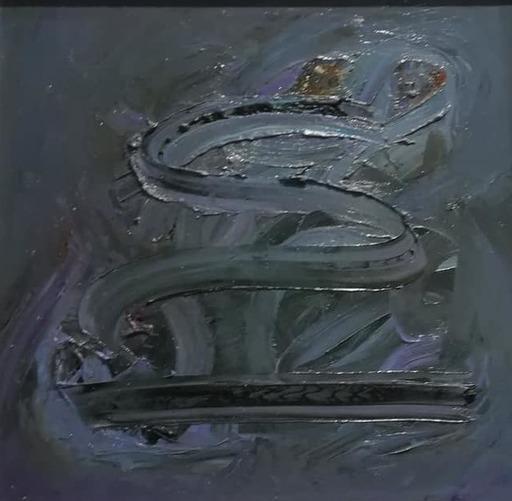 Lorena ULPIANI - Painting - Kundalini - olio materico informale