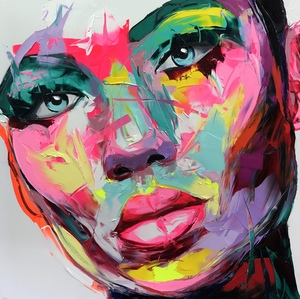 Françoise NIELLY - Painting - Mirabelle