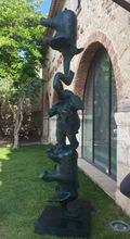 Philippe BERRY - Sculpture-Volume - Equilibre d'éléphants