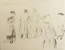 Jules PASCIN - Stampa Multiplo - Dans la rue 1912