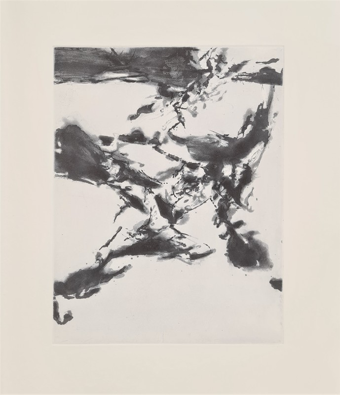 ZAO Wou-Ki - Stampa-Multiplo - XXIV Sonnets de Shakespeare