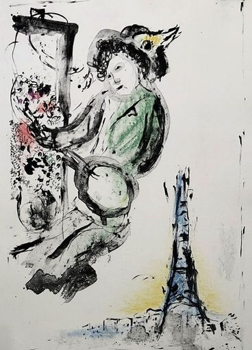 Marc CHAGALL - Print-Multiple - The Painter of Paris