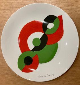 Sonia DELAUNAY-TERK - Ceramic - Eclipse