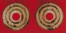 Bernard AUBERTIN - Painting - Dessin de feu