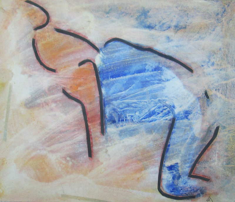 Paolo AMBROSIO - Peinture - Couple