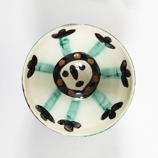 Pablo PICASSO - Ceramic - Coupe, visage
