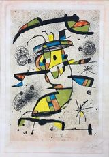 Joan MIRO - Print-Multiple - El Dancaire
