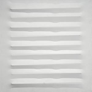 Agostino BONALUMI - Pintura - Bianco