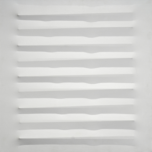 Agostino BONALUMI - Painting - Bianco