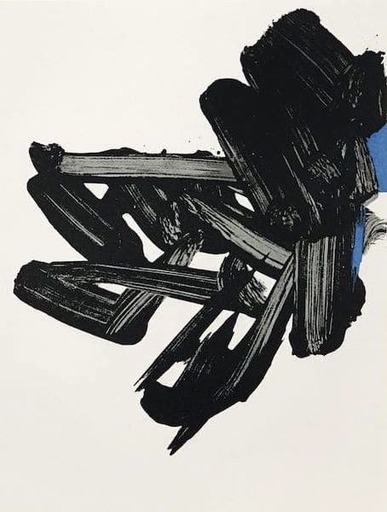 Pierre SOULAGES - Grabado - Lithographie Nr 17
