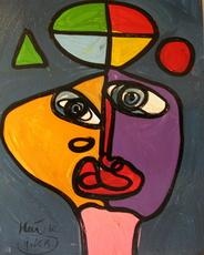 Peter Robert KEIL - Painting - Wiener Jongleur