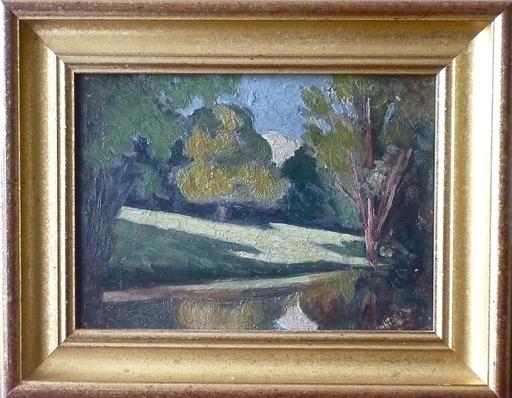 Georges COUDERC - Gemälde - Bords de rivière
