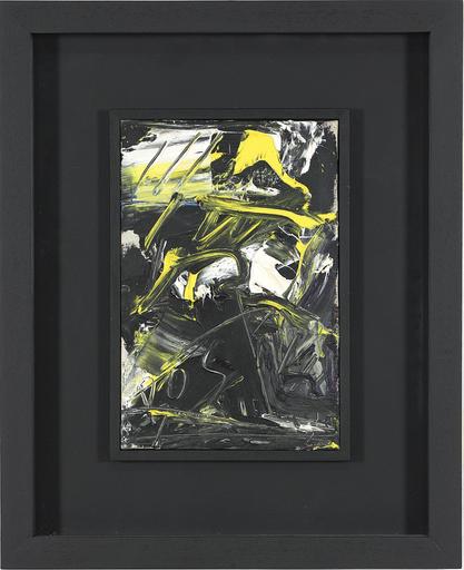 Emilio VEDOVA - Painting - Tracce di diario '95 - '12