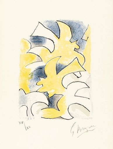 Georges BRAQUE - Stampa-Multiplo - Migration
